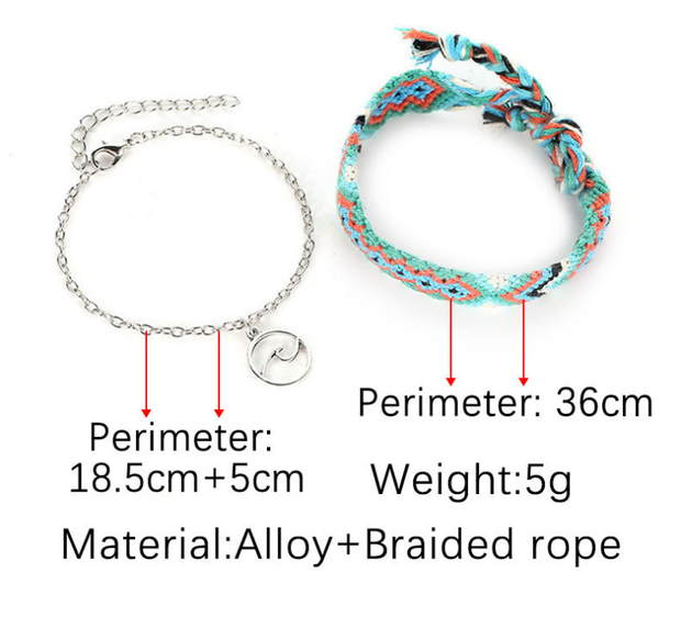 2018 Retro Boho Anklet [2 in 1]
