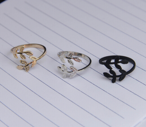 Fashion Leaf Rings