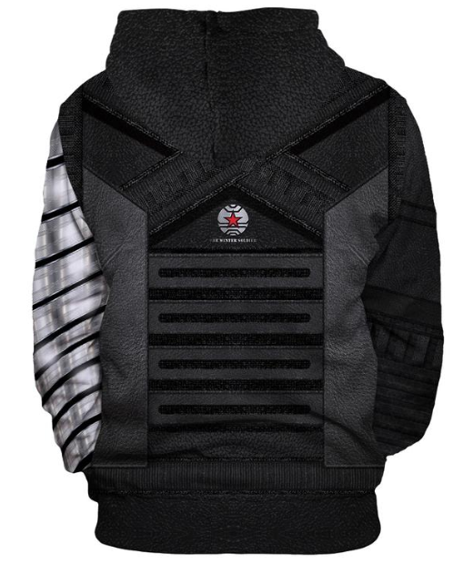 Special Avenger League  Winter Soldier Series 3D Sweaters