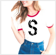 Summer Letter Print Tee - Southside Serpents