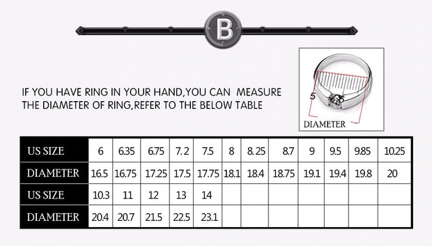 Beier new store 316L Stainless Steel ring top quality High Polished Signet Solid Biker Ring for men fashion Jewelry LLBR8-177R