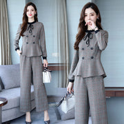 Double-breasted Fashionable Casual Suit