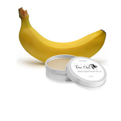 Banana Gluten Free Lip Balm by Vegan Tree Owl