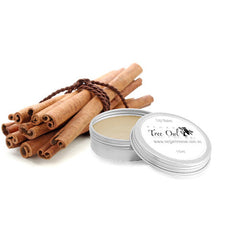 Cinnamon Gluten Free Lip Balm by Vegan Tree Owl