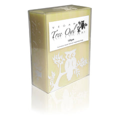 Frangipani Jojoba Palm Oil Free Soap by Vegan Tree Owl