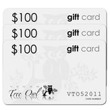 $100 Gift Card Value 3 Pack