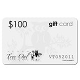 Vegan Tree Owl Gift Card