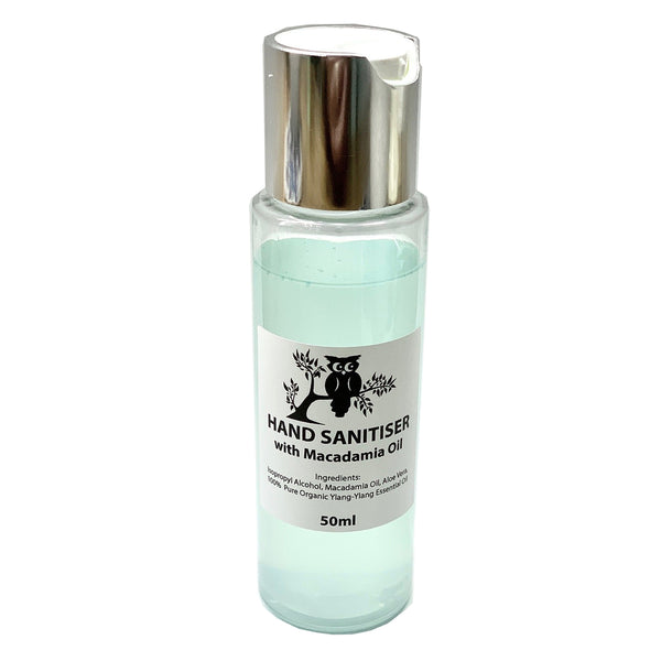 Hand Sanitiser with Macadamia Oil - 50ml