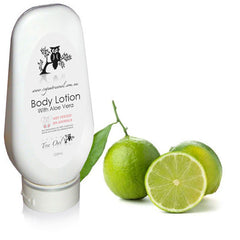 Lime Body Lotion by Vegan Tree Owl