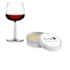 Red Wine Gluten Free Lip Balm by Vegan Tree Owl