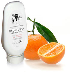 Tangerine Body Lotion by Vegan Tree Owl