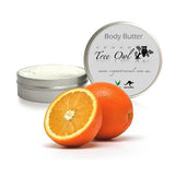 Tangerine Body Butter by Vegan Tree Owl