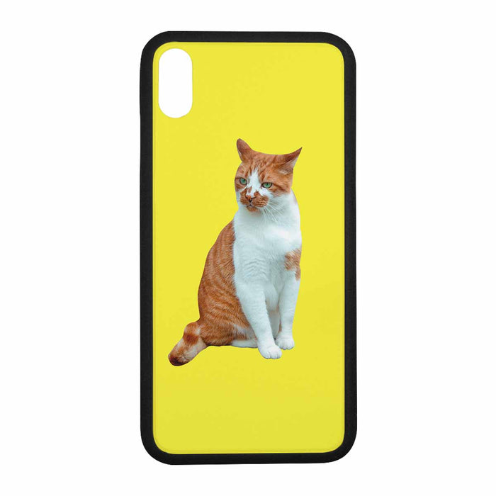 Custom Cat's Photo for Iphone XR/XS Max Rubber Case