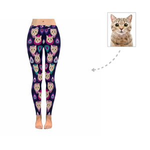 Custom Photo Print Women's Legging - myphotowears