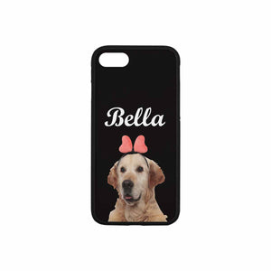Custom Pet's Photo Phone Case For iPhone 8 - myphotowears