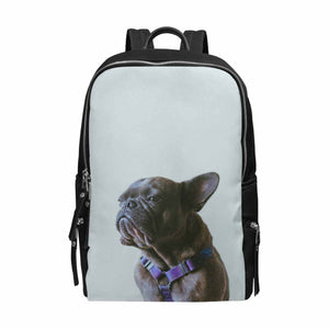 Custom Dog Photo School Bag Travel Backpack 15-Inch Laptop - myphotowears