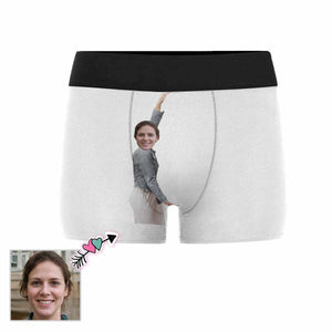 Custom Face Sexy Women Men's All-Over Print Boxer Briefs