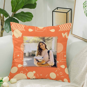 Custom Photo Pillow Case-Geometric Figure Patterns - myphotowears