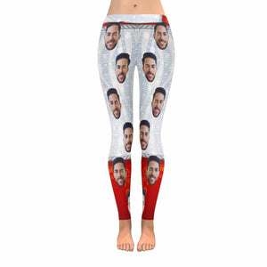 Custom Photo & Two-tone Leggings - myphotowears