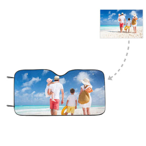 Custom Photo Auto Sun Shade