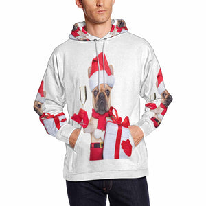 Custom Photo & Christmas Pet Men's Hoodie