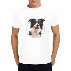 Custom Pet's Men's Short Sleeve T-Shirt - Gildan - myphotowears