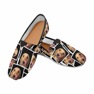Custom Stitching Photos Casual Canvas Women's Shoes - myphotowears