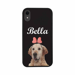 Custom Pet's Photo & Name Phone Case For IPhone7/8/7P/8P/XR - myphotowears