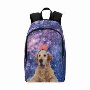 Custom Photo & Starry Sky School Backpack - myphotowears