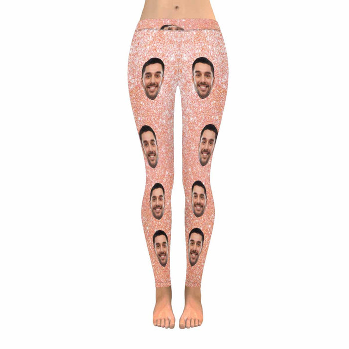 Custom Photo Print Women's Legging (Made In USA)