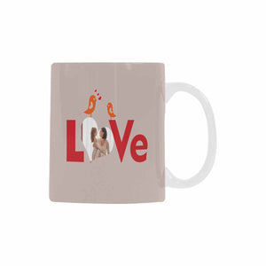Custom 'Love' With Photo Coffee Mug - myphotowears