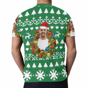 Custom Photo & Christmas T-shirt - myphotowears