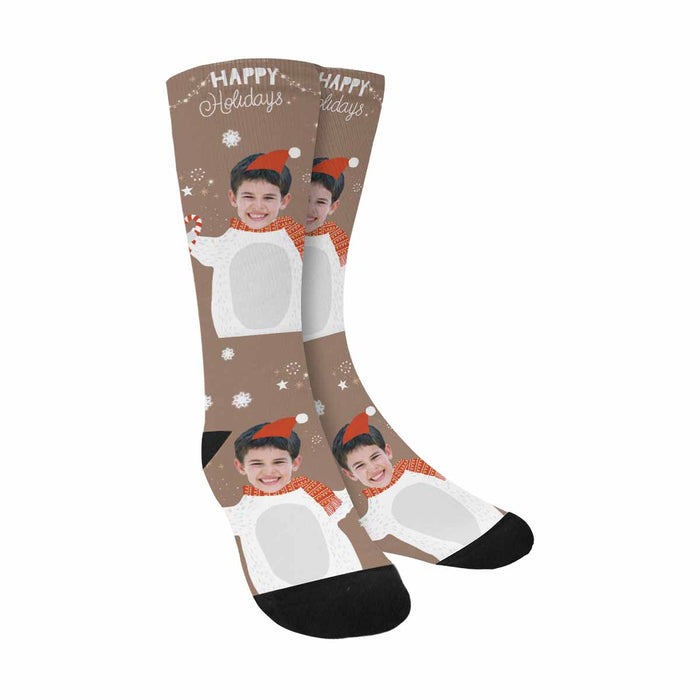 Custom Photo & Funny Christmas Socks