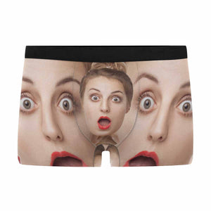 Custom Face Men's Briefs Underwear - myphotowears
