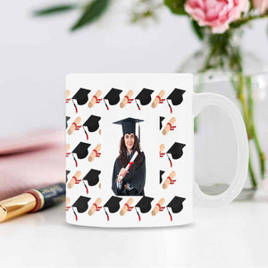Custom Graduation Photo Mug For Graduation Students - myphotowears