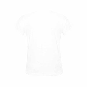 Custom Photo Gildan Women's Heavy Cotton T-Shirt - FBI WANTED Print - myphotowears