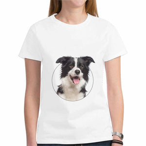 Custom Pet's Photo Women's Heavy Cotton T-Shirt - Gildan (Made In USA) - myphotowears