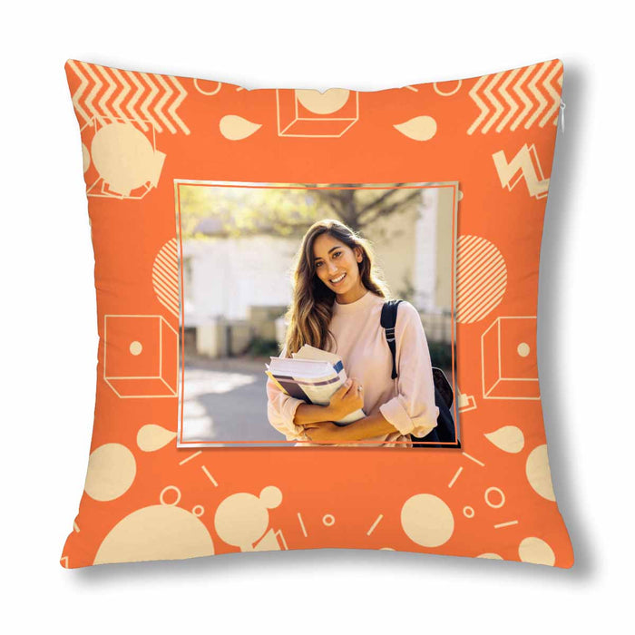 Custom Photo Pillow Case-Geometric Figure Patterns