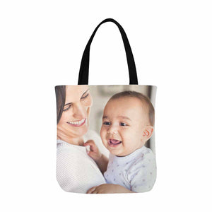 Custom Photo Canvas Tote Bag - myphotowears