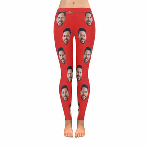 Custom Photo & Varicolored Women's Legging - myphotowears