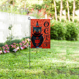 "Custom Halloween Garden Flag 12"" x 18"""