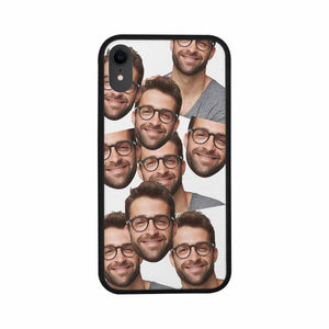 Custom Multiple Faces Iphone Rubber Case - myphotowears