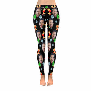 Custom Photo & Christmas Leggings - myphotowears