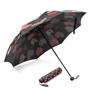 Custom Photo Sun & Rain Foldable Umbrella - myphotowears