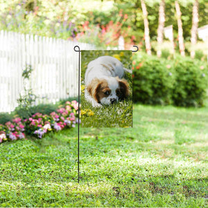Custom Dog Photo Garden Flag - myphotowears