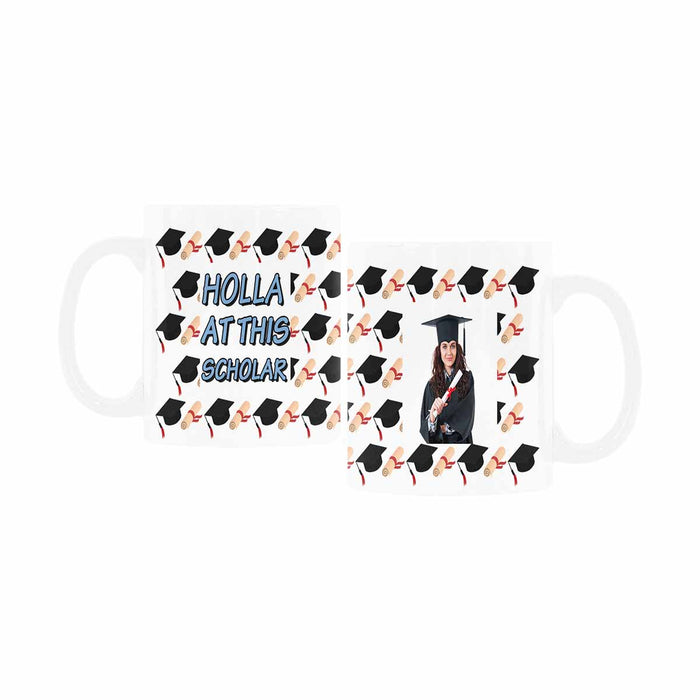 Custom Graduation Photo Mug For Graduation Students