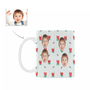Custom Children's Face Photo Mugs For kids - myphotowears