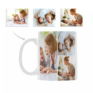 Custom Multi Photo Coffee Mug - myphotowears