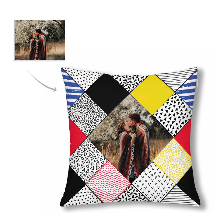 Custom Splice Photo Pillow Case