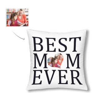 Custom  Photo Pillow Case - Best Mom Ever - myphotowears